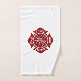 Firefighter Maltese Cross Gym Towel