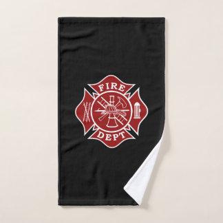 Firefighter Maltese Cross Hand Towel
