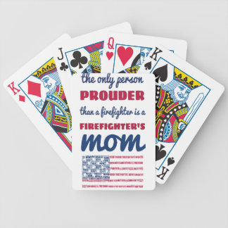 firefighter_mom bicycle playing cards