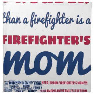firefighter_mom napkin