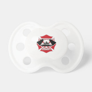 Firefighter mommy pacifier