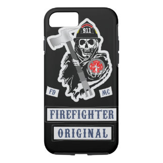 Firefighter Motorcycle Club iPhone 7 Case