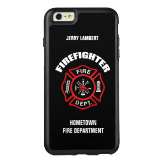 Firefighter Name Template OtterBox iPhone 6/6s Plus Case