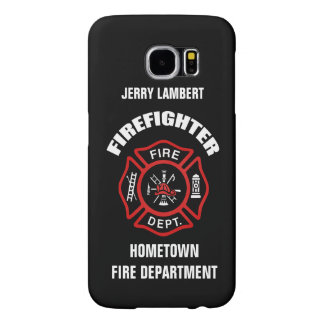 Firefighter Name Template Samsung Galaxy S6 Cases