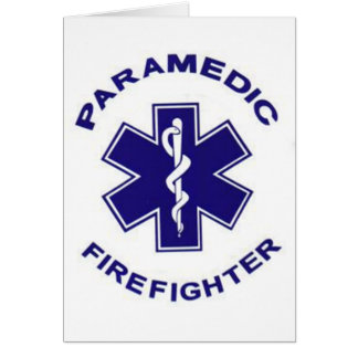 Firefighter Paramedic Card