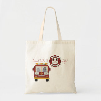 Firefighter, Proud Wife Tote