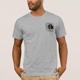 Firefighter Rescue Maltese Cross T-Shirt