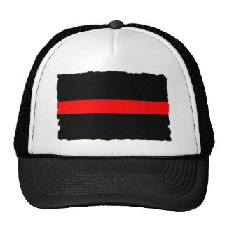 Firefighter Thin Red Line Hats