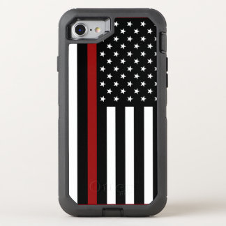 Firefighter Thin Red Line OtterBox iPhone 7 Case