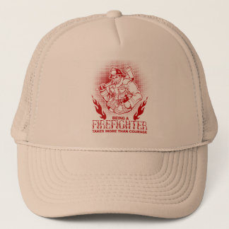 Firefighter Trucker Hat