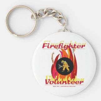 Firefighter Volunteer. Key Ring