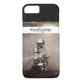 Firefighter Working iPhone 7 Case