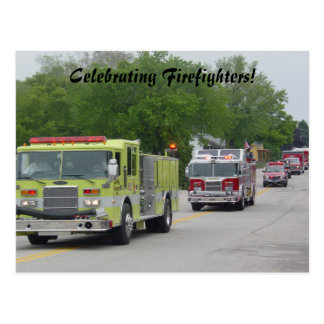 Firefighter's Celebration Postcard