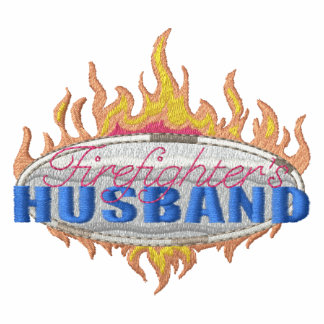 Firefighter's Husband Embroidered Shirts