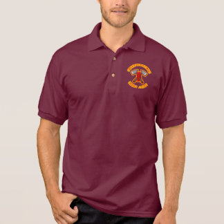 Firefighters Kick Ash Polo Shirts