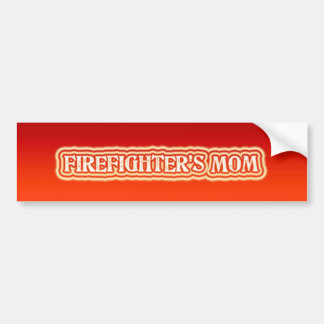 Firefighter's Mom Bumper Sticker