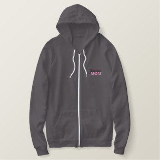 Firefighter's Mom Embroidered Hoodie