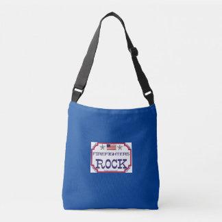 Firefighters Rock Crossbody Bag