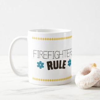 Firefighters Rule Coffee Mug