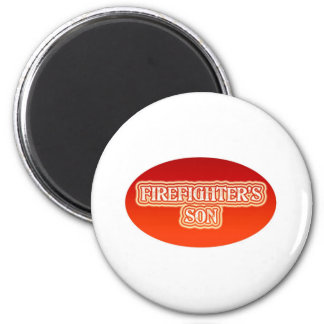 Firefighter's Son 6 Cm Round Magnet