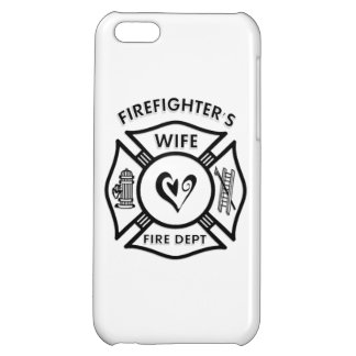 Firefighters Wife Case For iPhone 5C