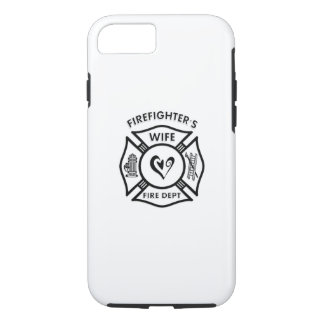Firefighters Wife Heart iPhone 7 Case
