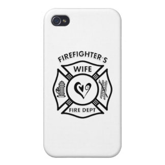 Firefighter's Wife iPhone 4/4S Case