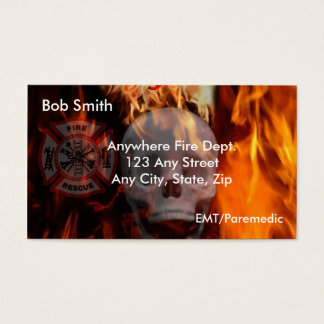 Firefighting Business Card