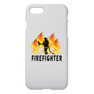 Firefighting Flames iPhone 7 Case
