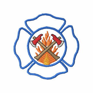 Firefighting Logo Polos