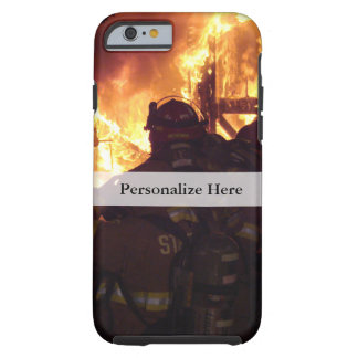 Firefighting Structure Fire Tough iPhone 6 Case