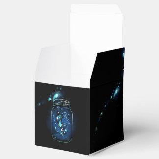 Fireflies in Jars Favour Box