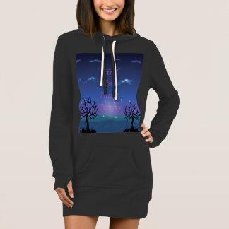 Fireflies Quote on Sweatshirt Dress