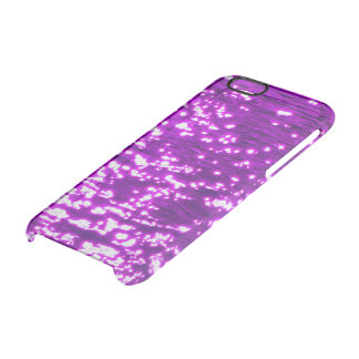 Firefly at Night Cherry blossoms Clear iPhone 6/6S Case