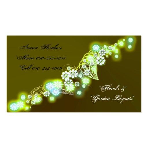 firefly golden business card templates
