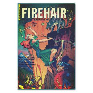 Firehair #8—Warrior-Maid of the Dakotas! Tissue Paper