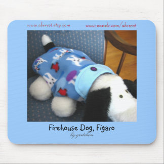 Firehouse Dog, Figaro Mouse Pad