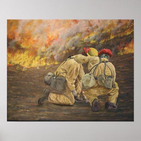 Fireline Friendship Poster