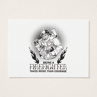 Fireman Business Card