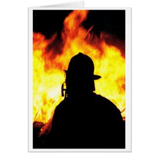 fireman greeting cards