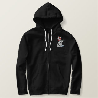 Fireman Dalmatian Embroidered Hooded Sweatshirts