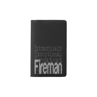 Fireman Extraordinaire Pocket Moleskine Notebook