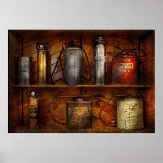 Fireman - Fire Control Poster