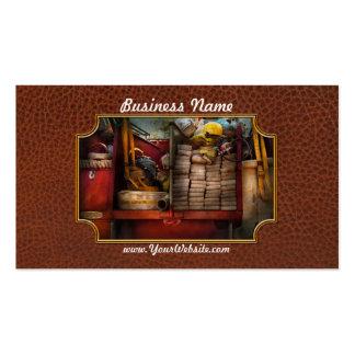 Fireman - Fire equipment Business Card Template