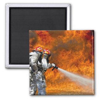 Fireman Fire Flame Rescue Destiny Digital Fridge Magnets