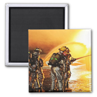 Fireman Fire Flame Rescue Destiny Digital Magnets