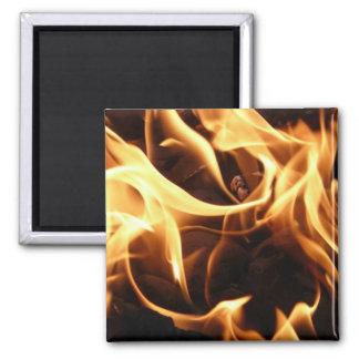 Fireman Fire Flame Rescue Destiny Digital Magnet