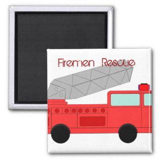 Fireman Fire Flame Rescue Destiny Digital Refrigerator Magnets