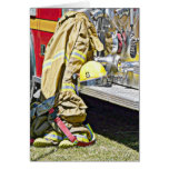 Fireman Firefighting Suit and Truck