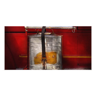 Fireman - Indian Pump Personalized Photo Card